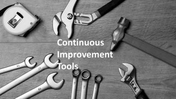 Continuous improvement tools for manufacturing and service industries workshop by Dr Shruti Bhat