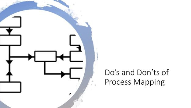 Dos and don'ts of process mapping, dr shruti bhat, continuous improvement